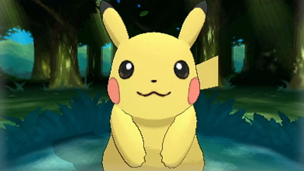 Pikachu holds the honor of being the only Pokemon in the game to say its name!