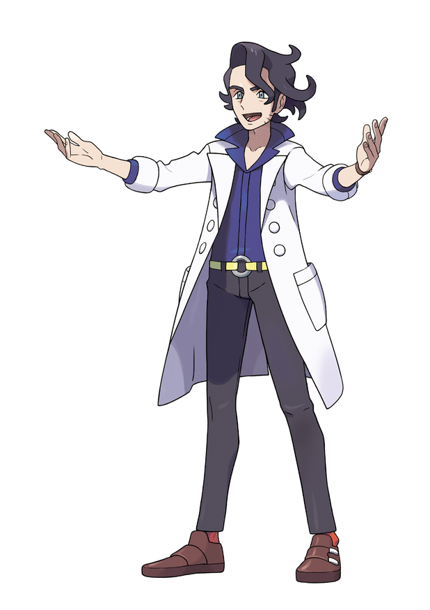 Professor Sycamore actually does more than give you a starting Pokemon and talk about filling the Pokedex.