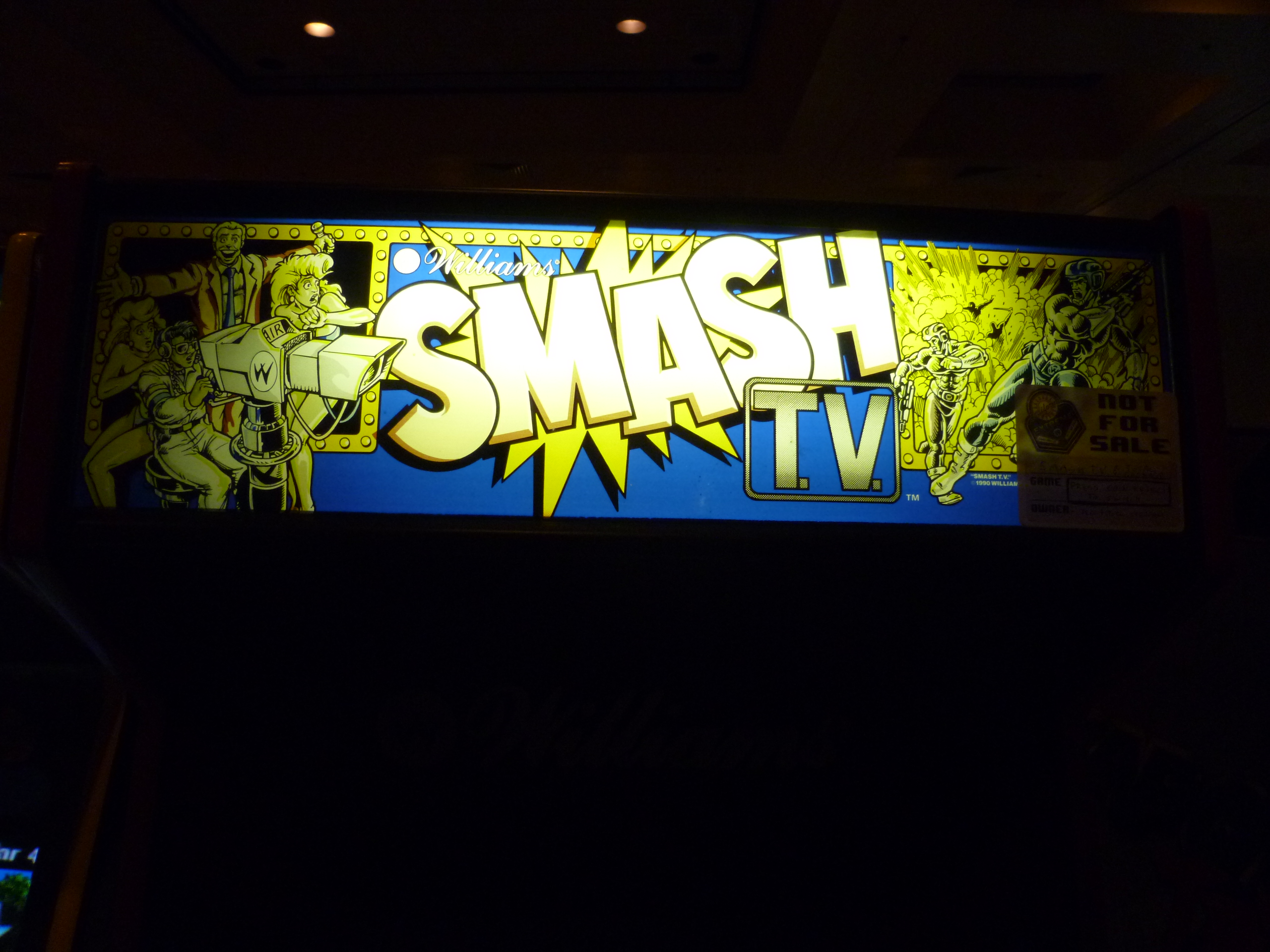 Smash TV Marquee