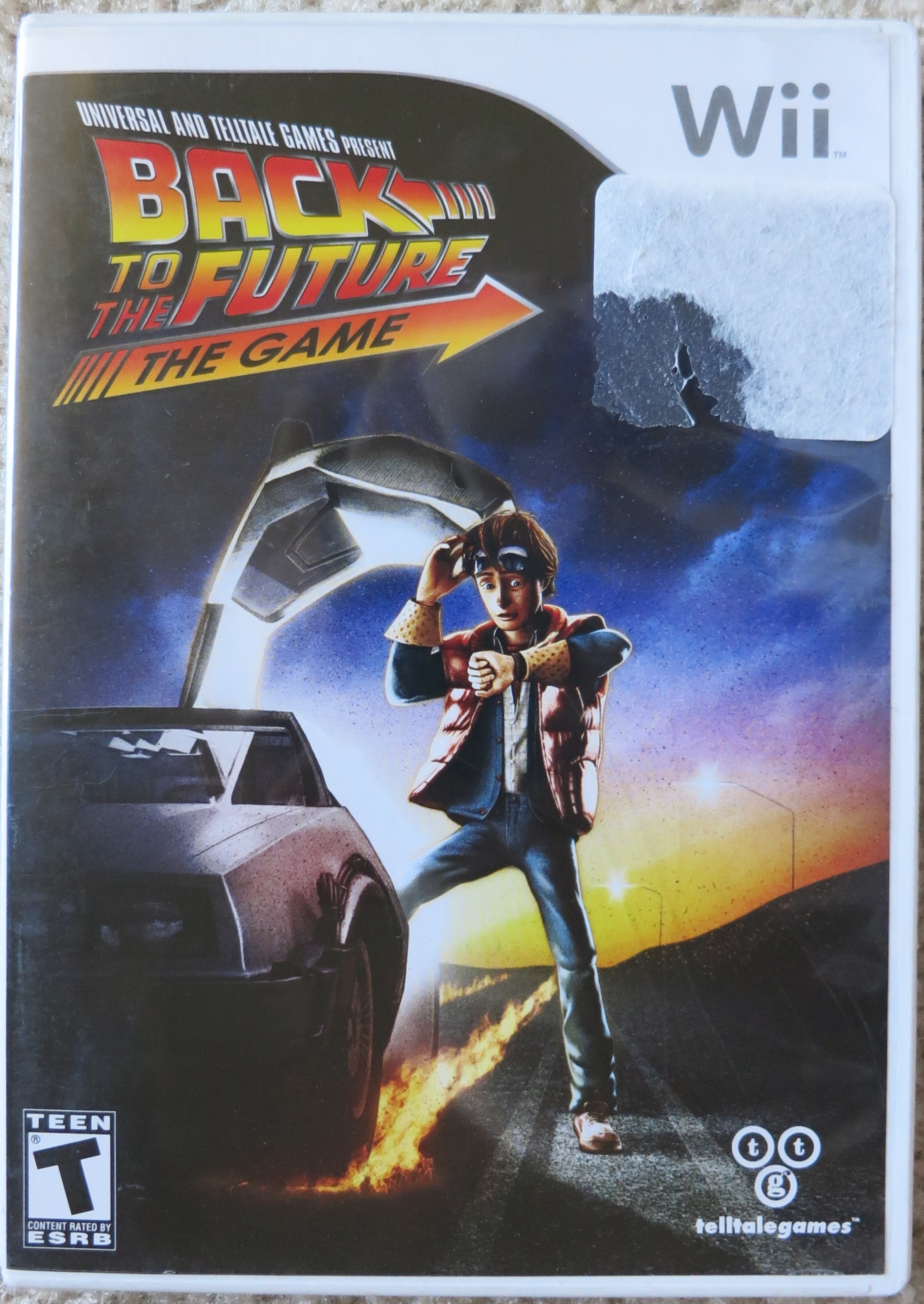 Back to the Future the Game Cover