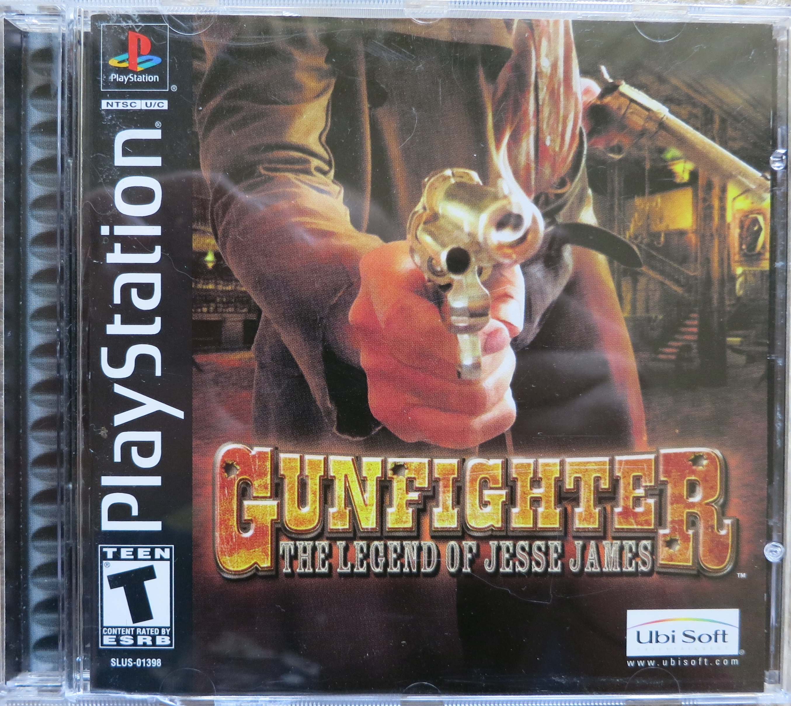 Gunfighter The Legend of Jesse James Cover
