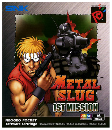 Metal Slug 1st Mission Cover