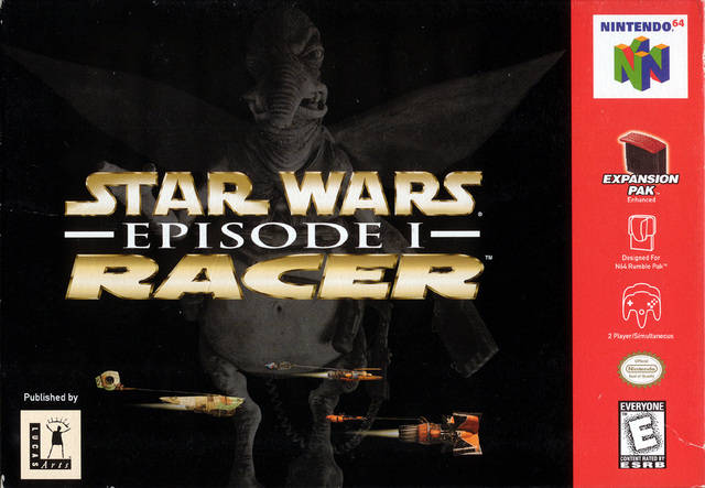 Star Wars Episode 1 Racer Cover