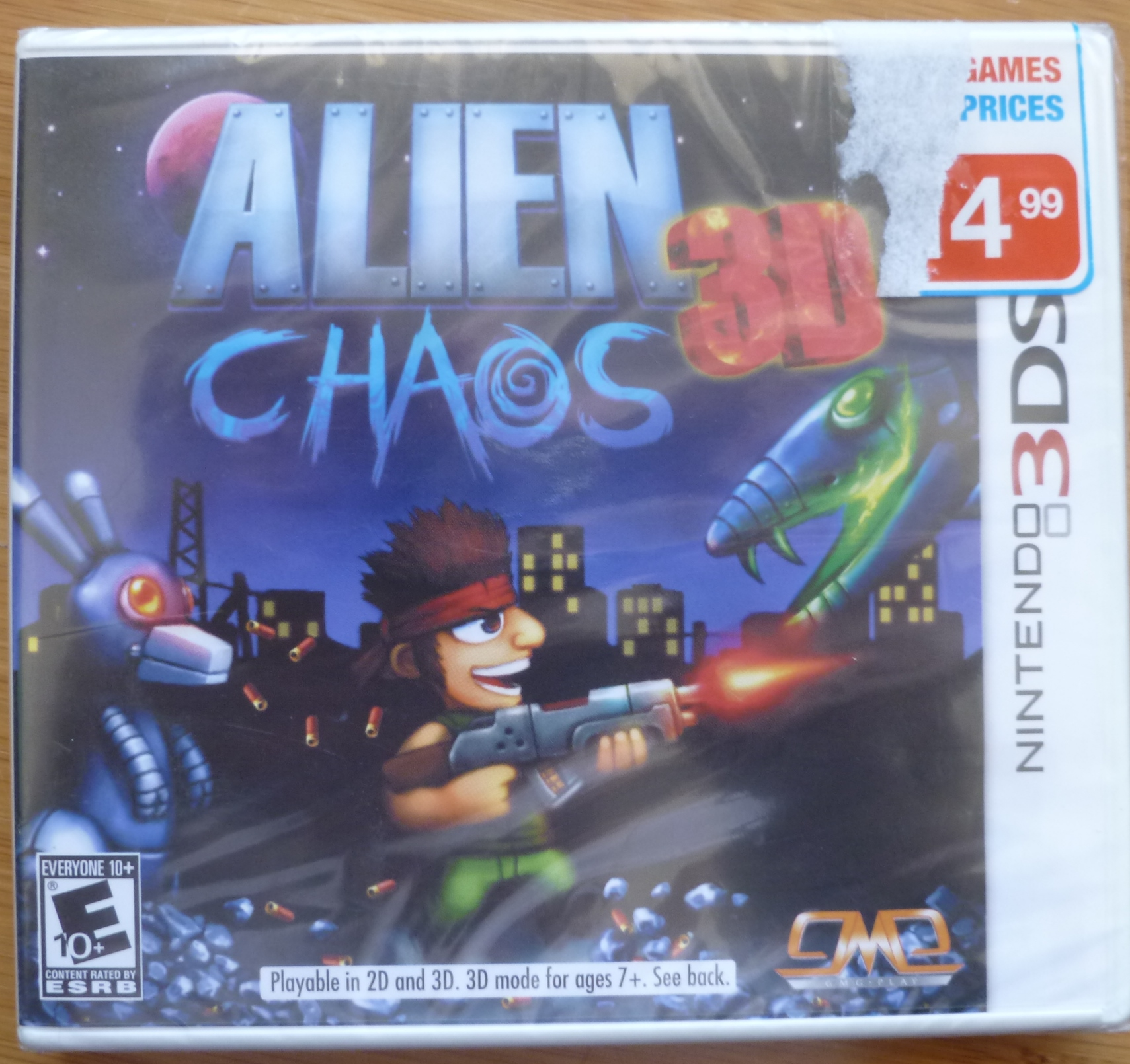 Alien Chaos 3D Cover