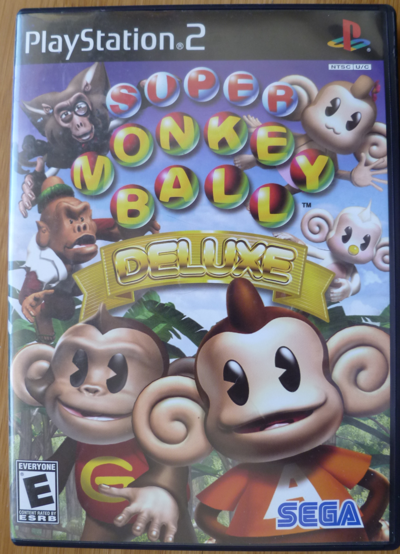 Super Monkey Ball Deluxe Cover