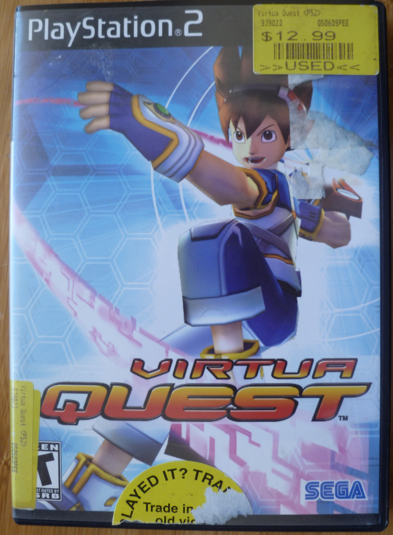 Virtua Quest Cover