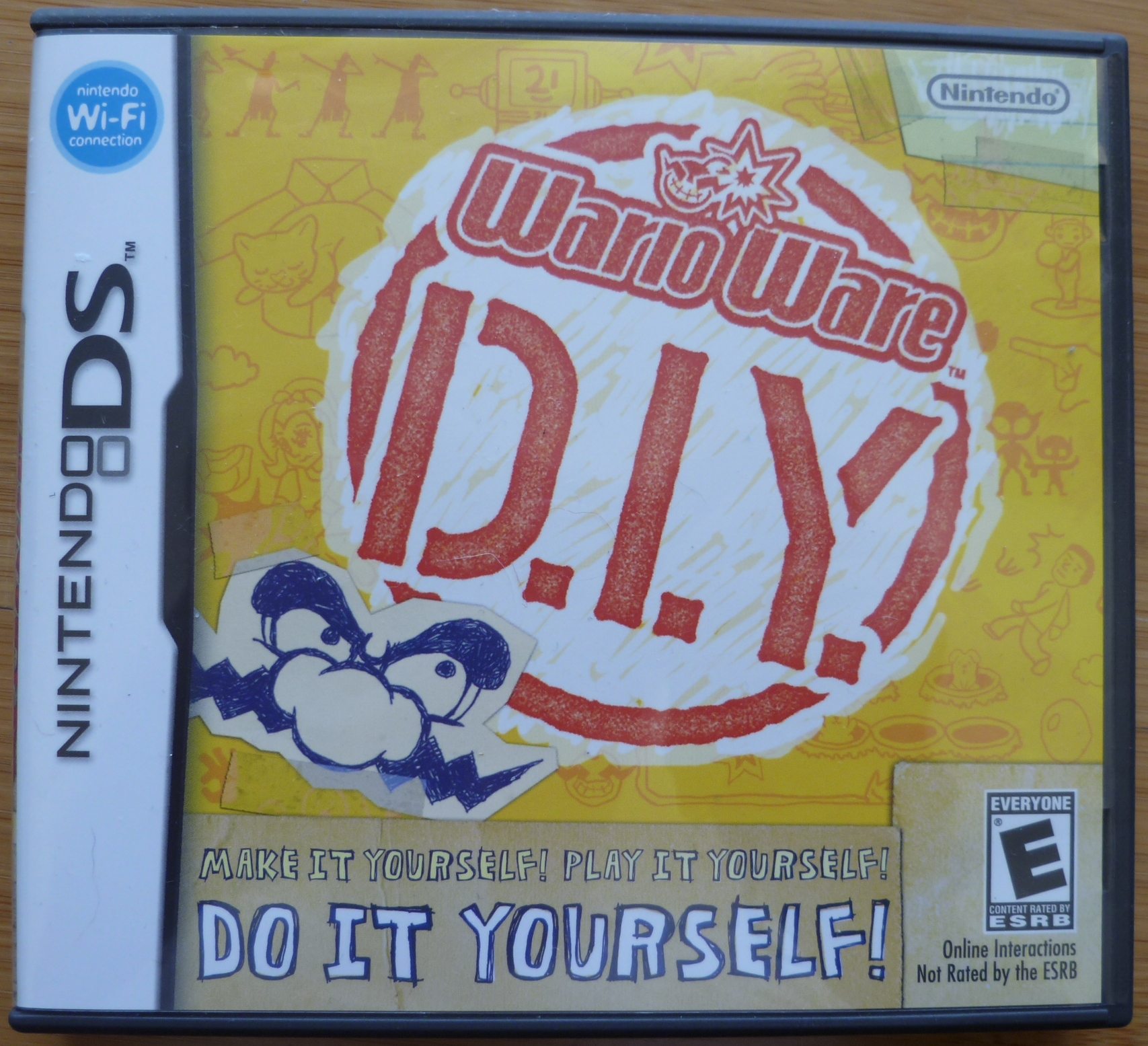 WarioWare DIY Cover