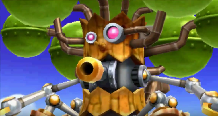 Kirby Planet Robobot Clanky Woods
