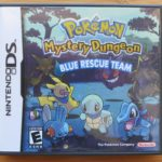 Pokemon Mystery Dungeon Blue Rescue Team Cover