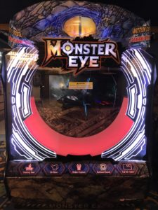 Monster Eye Merlin's Arcade, Excalibur Resort 2019 Las Vegas, NV
