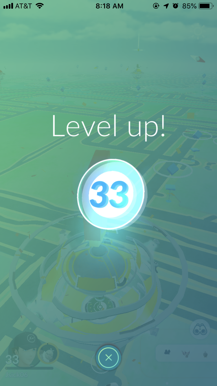 Pretty sure I had been level 32 for legit all of 2018.