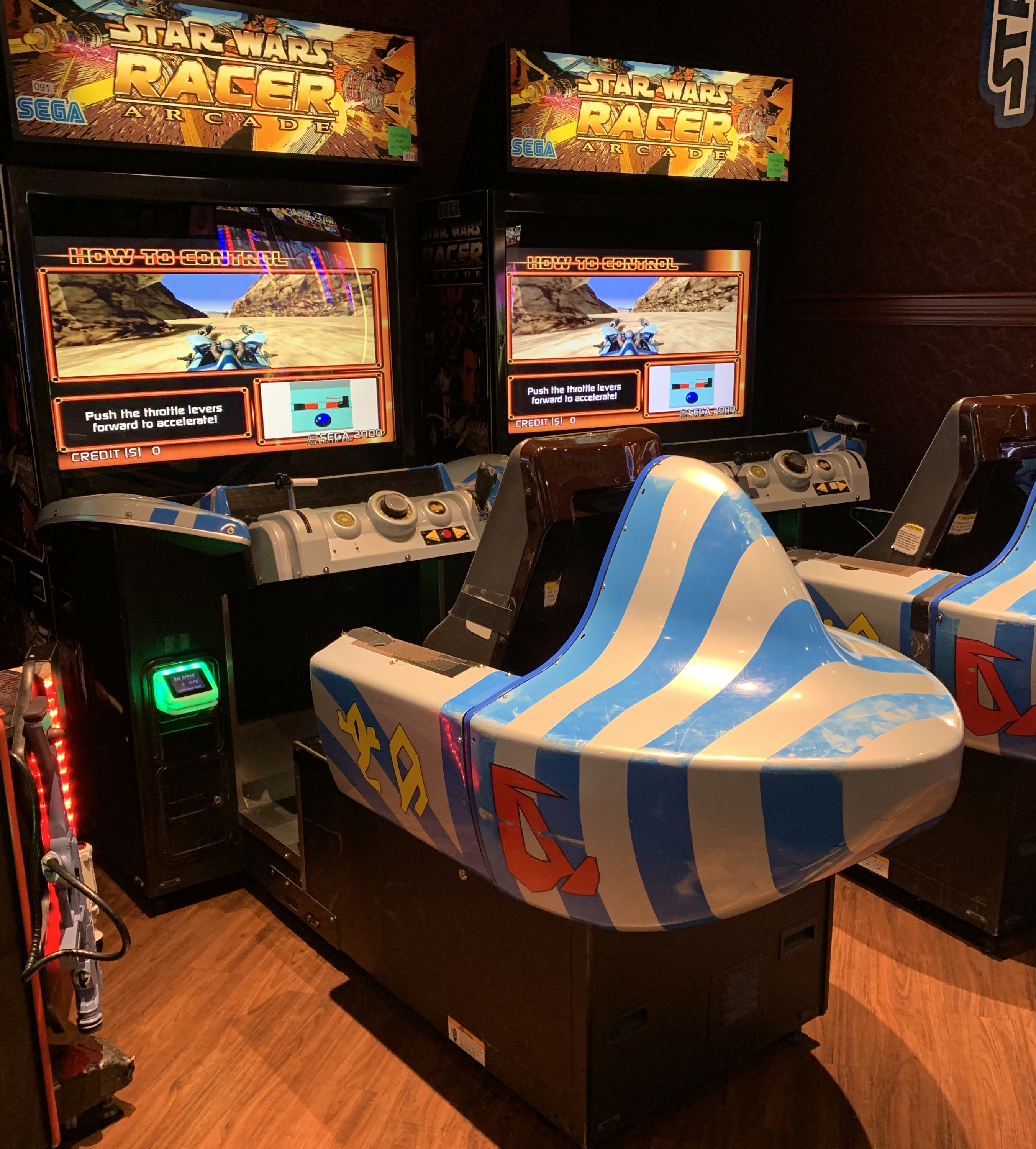 Star Wars Racer Arcade New York New York Resort 2019 Las Vegas, NV